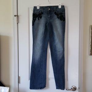 WHBM bootcut Jean's 2R